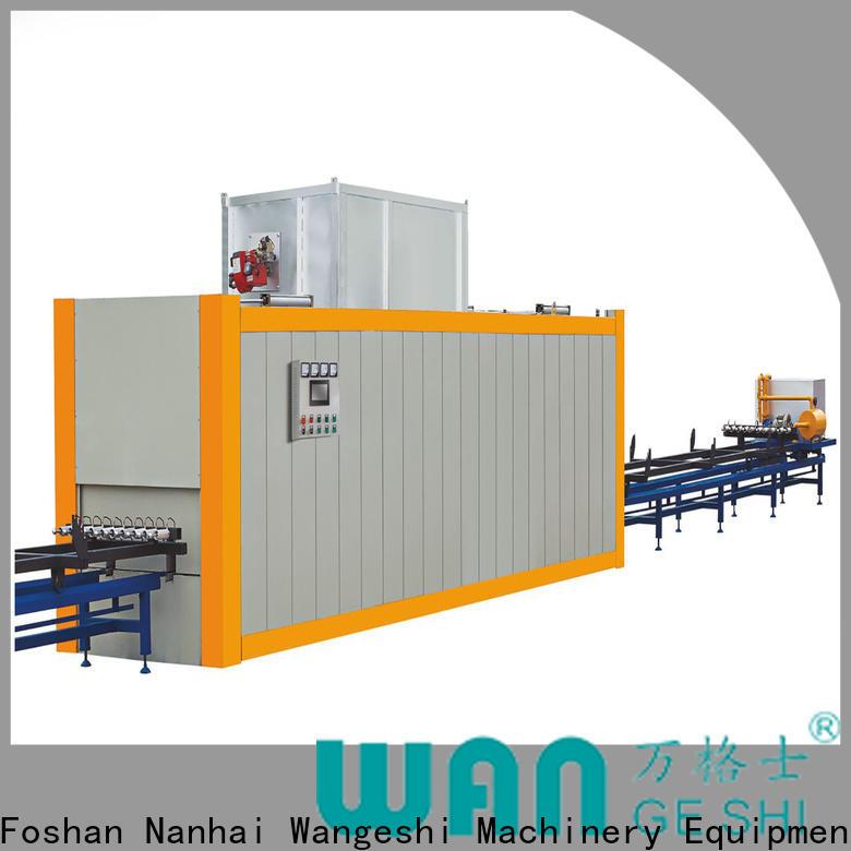 Wangeshi Custom aluminum profile machine factory price for transfering wood grain on surface of aluminum