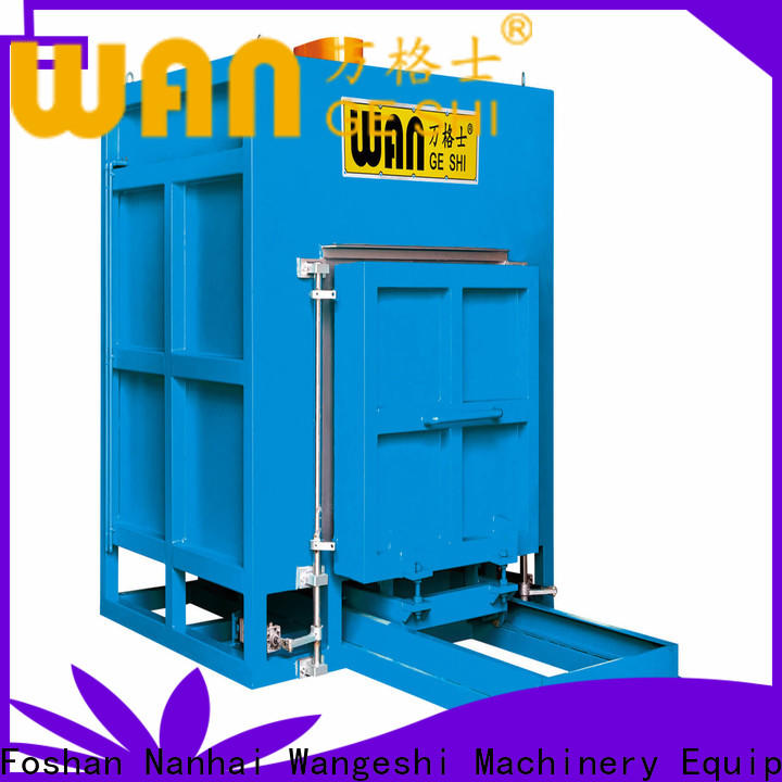 Wangeshi industrial infrared oven factory price for heating aluminum profile