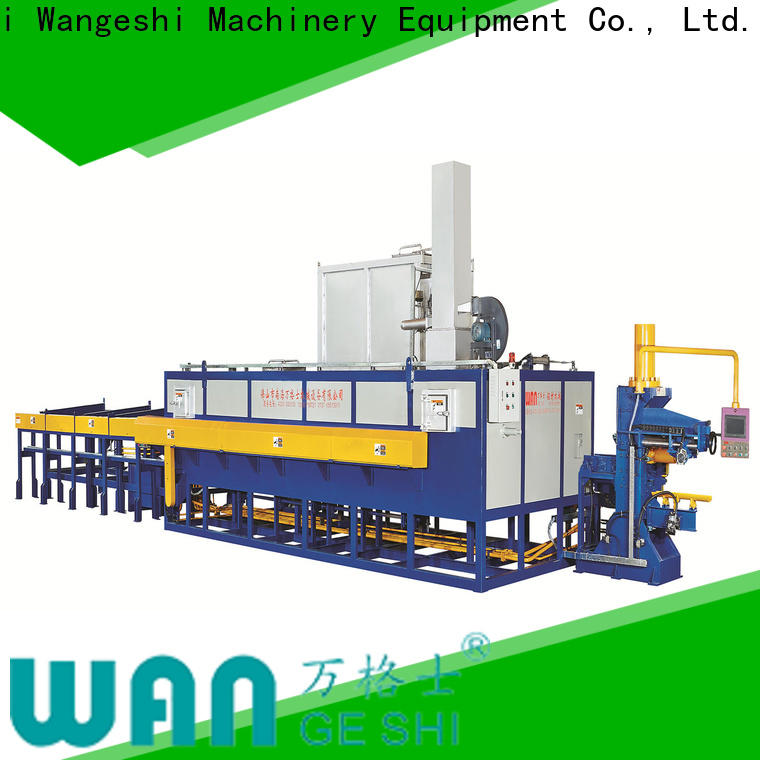 Wangeshi Custom billet reheating furnace factory for aluminum extrusion
