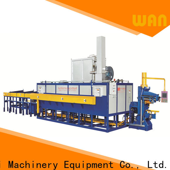 Wangeshi heat treatment furnace vendor for aluminum billet heating