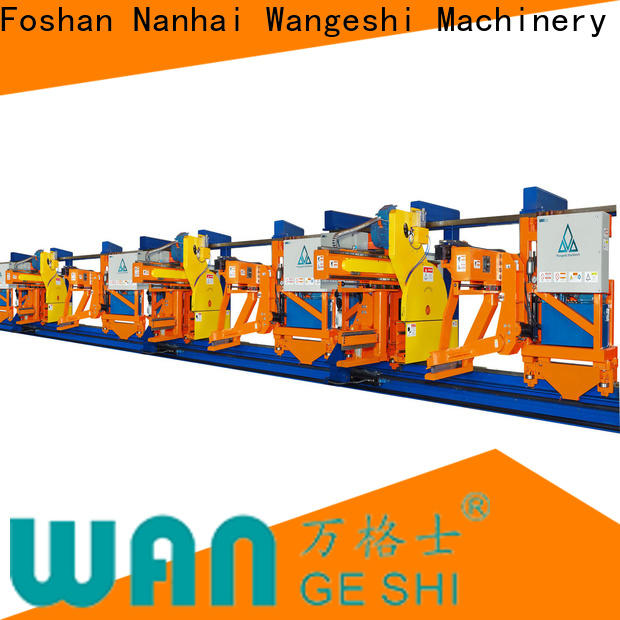 Wangeshi High-quality aluminium extrusion equipment manufacturers for pulling and sawing aluminum profiles