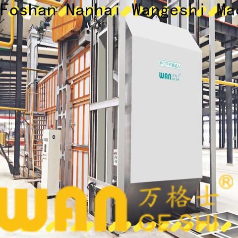 Wangeshi aluminum aging furnace supply for high temperature thermal processes of aluminum