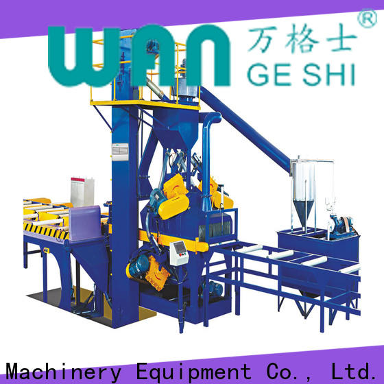 Wangeshi sand blasting machine factory