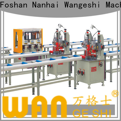 Wangeshi thermal break assembly machine company for producing heat barrier profile