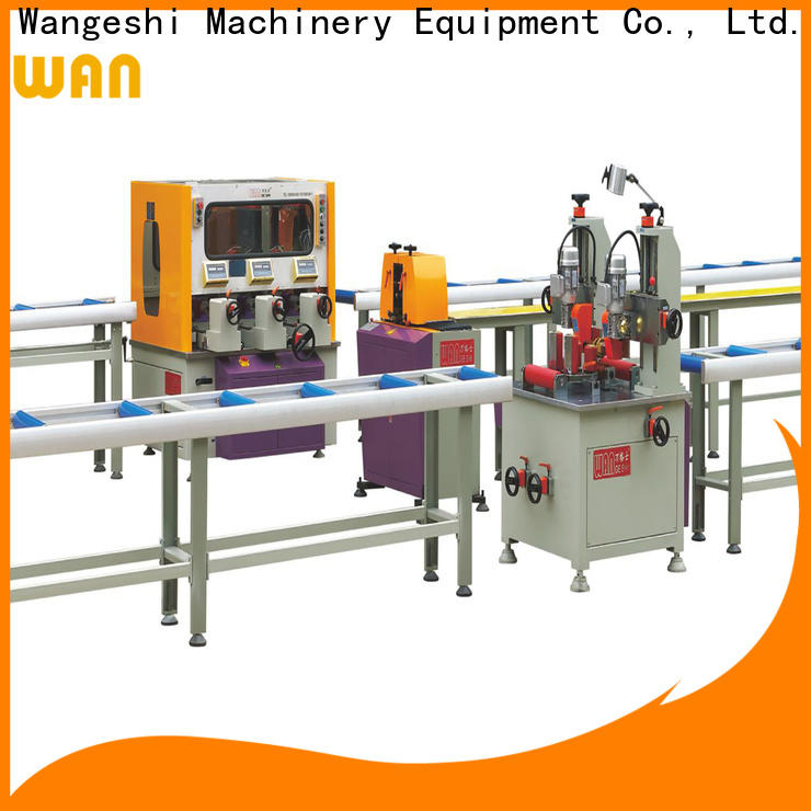 Wangeshi Top thermal break assembly machine manufacturers for making thermal break profile