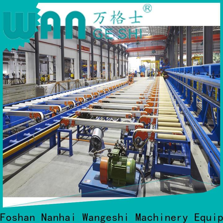 Wangeshi handling table company for aluminum profile handling