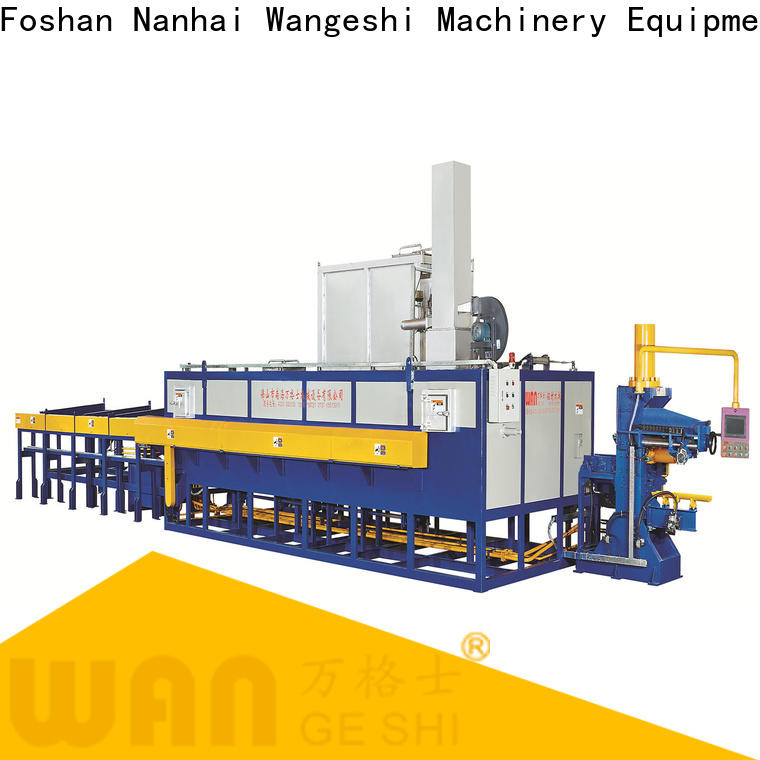 Wangeshi Top aluminium extrusion equipment for sale for for preheating individual aluminum billet