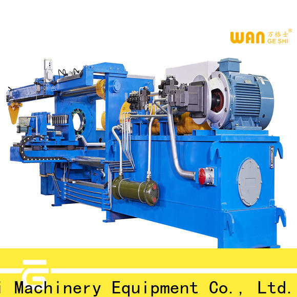 Wangeshi Professional aluminium billet casting machine vendor for cleaning aluminium billet