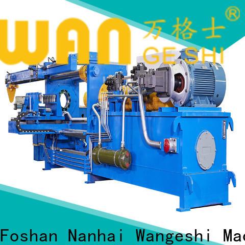 Wangeshi New aluminium billet casting machine vendor